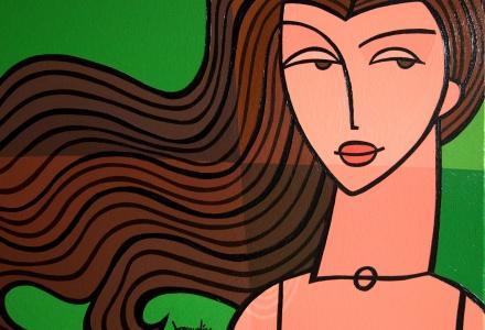 Indisch meisje - by Jacqueline Schafer