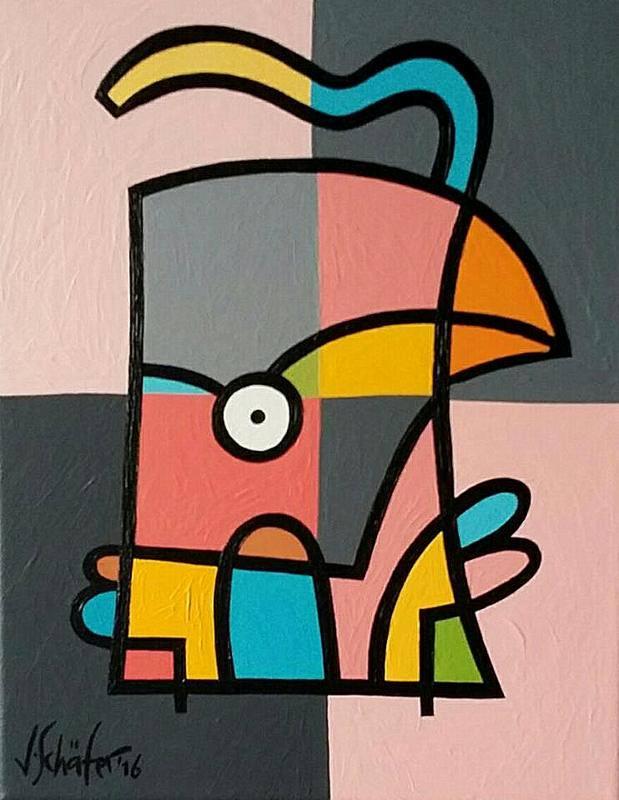 Strange Bird Nr.70 - Jacqueline Schafer