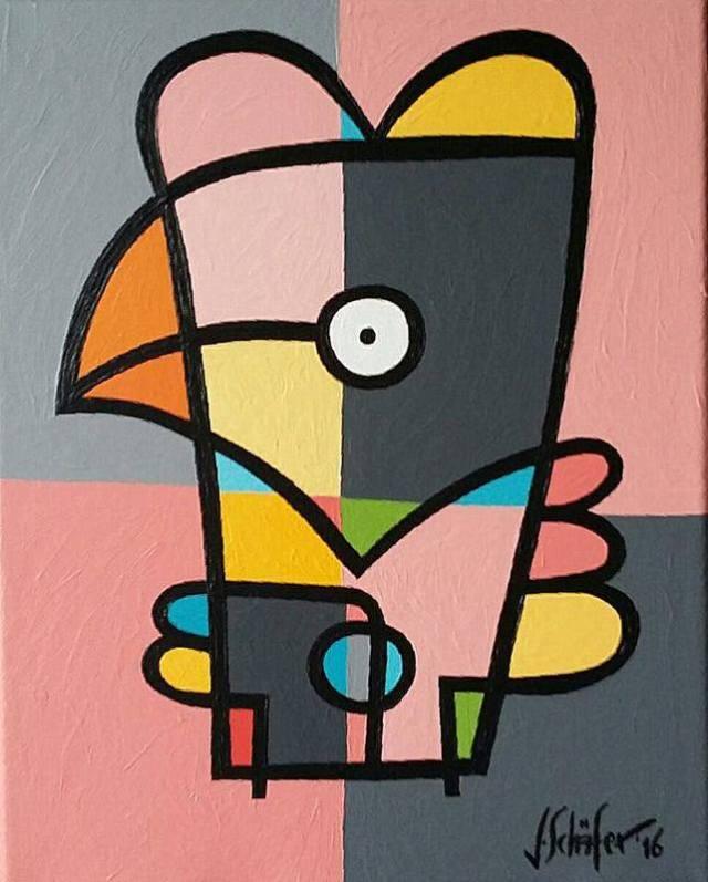 Strange Bird Nr. 71 - Jacqueline Schafer