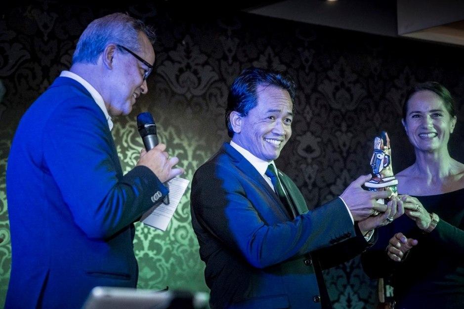 Uitreiking IBC Award 2018
